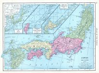 Japan, World Atlas 1913